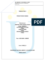 Fase 1 Poductividad Humana.doc