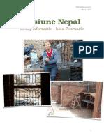 Misiune Nepal Mesaj Informativ - luna Februarie