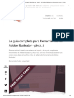 La Guía Completa Para Herramientas de Adobe Illustrator - Pinta II