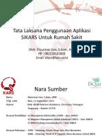 Tata Laksana Pengisian SelfAssessment Dan Penggunaan SISMADAK