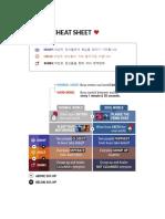 Lak an Cheat Sheet