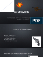 Presentation gunpowder