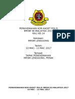 338164135 Kertas Kerja Perkhemahan Kor Kadet Polis 2017 Mrsm Lenggong Latest
