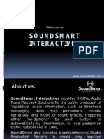 Audio Solutions for Businesses - SoundSmart Interactives