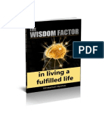 The Wisdom Factor Revised 3D