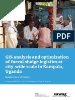 Gis Analysis Kampala