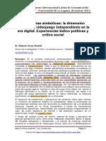 Disidencias simbólicas- la dimensión política del videojuego independiente en la era digital. Experiencias lúdico-políticas y crítica social - Arnau Roselló