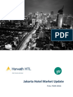 Full Year 2016 Jakarta Hotel  Market Overview