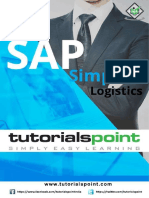 Sap Simple Logistics Tutorial