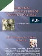 Problemas Psicosociales en Los Adultos Mayores