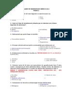 Examen de Residentado Medico 2011