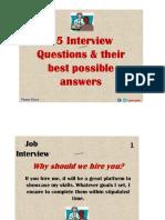 15Best Interview Questions
