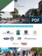East Riverfront Framework Plan