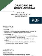 1. Analisis Cualitativo de Carbohidratos