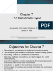 Accounting Information System Chapter 7 (James Hall)