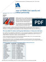 Philippine Airlines May Cut Middle East Capacity and Network, And End Etihad Partnership _ CAPA - Centre for Aviation
