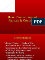 Chapter 3 Biomechanics KINE 3300