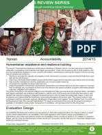 Accountability Review in Yemen