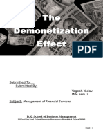 333163029 the Demonetization Effect