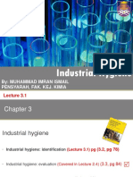 Lecture 3.1 Industrial Hygience Identification Jan 2017 Ilearn