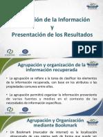 5. Integracion de La Informarción y Presentación de Resultados