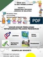 Tajuk 7 Kesamarataan Peluang Pendidikan