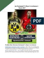 Prediksi Borussia Dortmund vs Bayer Leverkusen 4 Maret 2017