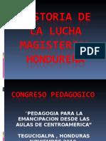Historia Del Magisterio Hondureño Noviemre 2010