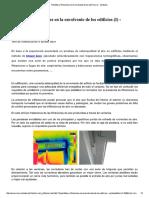 Pérdidas y Filtraciones en La Envolvente de Los Edificios (I) - Ventanas