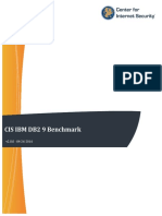 CIS IBM DB2 9 Benchmark v2.0.0