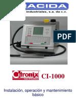 94414053 Manual de Mantenimiento y Servicio Citronix Ci 1000
