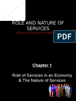 Chapter 1 the Role and Nature of Services in an Economy1