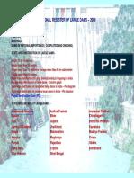National Register of Large Dams 2009