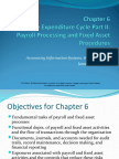 Accounting Information System Chapter 6