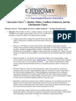 House Judiciary Committee Alternative Facts v Reality Fact Sheet 3.1.17
