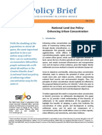 Enhancing Urban Concentration_PolicyBrief