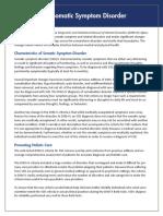 APA DSM 5 Somatic Symptom Disorder