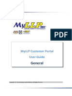 MyLLP Customer Portal User Guide - General