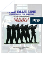 Battlestar Galactica - Thin Blue Line