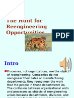 Topic 7 - Hunt for Reengineering Opportunities