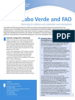 Cabo Verde and FAO