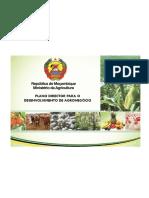 Plano Director Para o Desenvolvimento de Agronegocio-moz