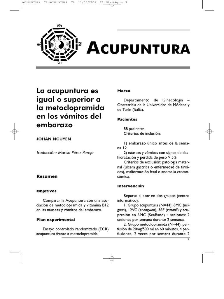 Excelente Muestra De Reanudación De Acupuntura Imagen - Ejemplo De ...