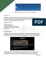 Axios Capital Q2 2010 Letter to Investors