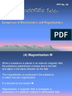 PPT20 -Comparison Electrostatics Magnetostatics