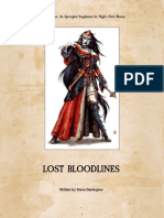 WHFRP 2 lost Bloodlines