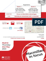 Macmillan in Focus Madrid