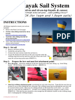 Pacific Action Sail System - Fitting Instructions