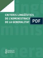 Criteris Lingüístics Web