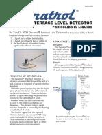 DYNATROL Interface Level Switch